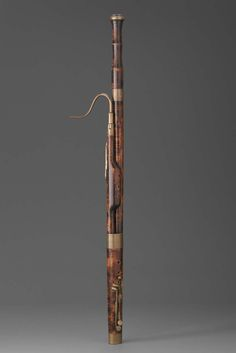 Bassoon about 1810 Probably by Pierre Joseph Cuvillier (1779–1847 French) Object Place: St. Omer, France