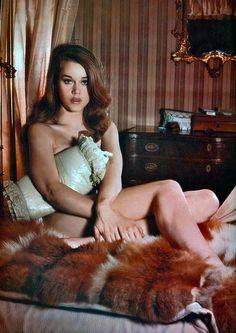 Jane Fonda. Photo by Peter Basch, 1962.