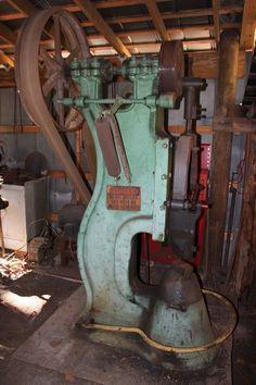 Blacksmith Power Hammer Champion Blower Forge 2 125 Pound RAM