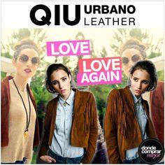 IN CRE ÍBLE esta campera de Qiu urbano leather. ¡La queremos! www.dondecomprarmejor.com/qiu-urbano-leather