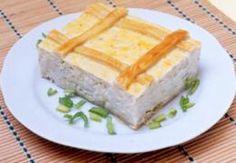 Miniatura do Torta Cremosa de Alho-poró