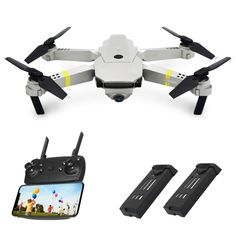 Toys & Hobbies Rc Model Vehicles & Kits Learned Drone X Pro 1080p Hd Camera Wifi App Fpv Foldable Wide-angle 4* Batteries Elegant Appearance