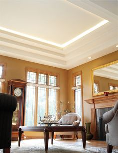 The Juno Trac trac system is ideal for the narrow dimensions of residential and commercial coves and is available with energy-efficient LED lighting modules Juno Lighting, Cove Lighting, Lighting Design, Residential Lighting, Lobbies, Stairways, Condo, Living Spaces, Indoor