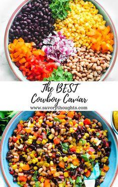 The BEST Cowboy Caviar Recipe Ever - Food Favorie