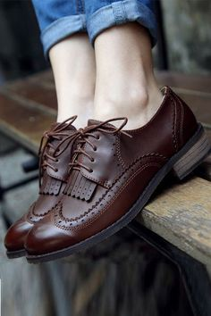 Tendance Chaussures Brouges. I love the style how comfterable they are and how they make me feel ev