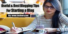 best blogging tipsfor starting a blog