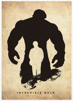 Malaysia-based artist Marcus has created a set of posters using just the silhouettes of Superheroes. In his series, Hulk, Spiderman, Batman and Captain America appear as mere shadows of themselves.