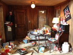 Miniature Abandoned House Interior