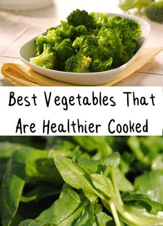 Amazing! Some vegetables are healthier raw but not all the raw vegetables are healthy! Find out what are the best vegetables that are healthier cooked!