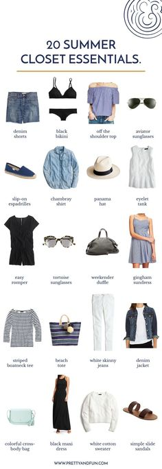 Happy First Day of Summer! After a beautiful, warm weekend I'm finally in a summertime state of mind and spent some time yesterday pulling out some favorite summer pieces to prep for my upcoming trip back to Chicago. While doing a bit of closet purging and organizing I pulled together a little list of my ultimate Read More #wardrobebasicslist