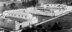 Cascades Female Factory, Hobart, Tasmania - The Cascades Female Factory, or women's prison, with the hills of what is now South Hobart in the background. Van Diemen's Land, Aussie Australia, Terra Australis, Largest Countries, Beautiful Islands, Old Photos, The Good Place, Tourism, Places
