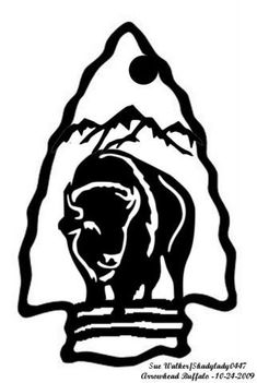 Arrowhead Buffalo - Animals - User Gallery - Scroll Saw Village