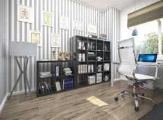 Projekt domu Ajaks Bis G2 127,26 m2 - koszt budowy - EXTRADOM Shelving, House Plans, Conference Room, Divider, Modern, Houses, Furniture, Home Decor, Shelves