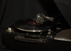 Photography, PhotoArt Gramophone Turntable, Music Instruments, Dreams, Photography, Record Player Table, Guitar, Round Round, Musik, Record Player
