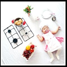 Konsept çekim Funny Baby Photos, Monthly Baby Photos, Baby Pictures, Newborn Photography Poses, Newborn Baby Photography, Children Photography, 6 Month Baby Picture Ideas Boy, Baby Blue Aesthetic, Foto Baby