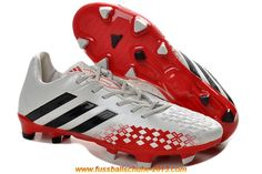 cheap for discount dac13 9f330 Latest Listing White Black Hi-Res Red Adidas Predator Lethal Zones II  Running Football Boots Store