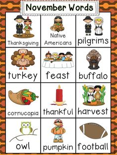 Thanksgiving CCSS activities and centers for Kindergarten! Sight word books, bulletin board craftivities, social studies connections, games and more. $