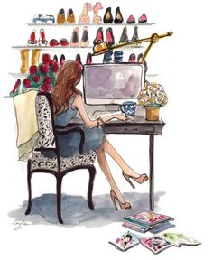 maybelline:    Reconsidering office decor…
