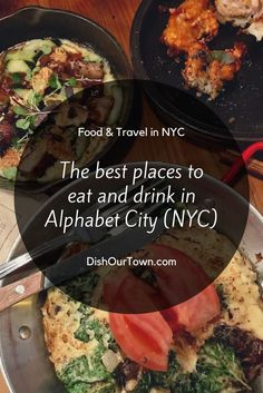 Where to #eat and dr