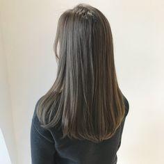 33 trendy ombre hair color ideas of 2019 - Hairstyles Trends Medium Hair Styles, Natural Hair Styles, Short Hair Styles, Ombre Hair Color, Cool Hair Color, Korean Hair Color, Ulzzang Hair, Aesthetic Hair, Love Hair