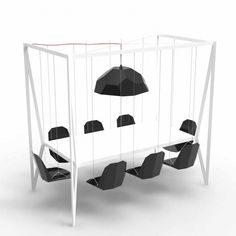 Swing Table - black awesome!