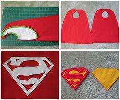 My Handmade Home: Tutorial: DIY Superhero Capes