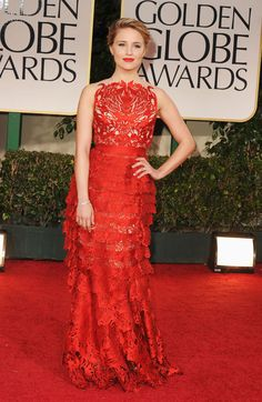 Golden Globes 2012  Best Dressed list