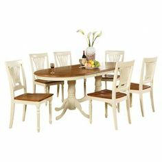 Dinner Parties And Casual Family Meals Alike This Classic Dining Set