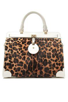 9473a3cc106 Jason Wu Jourdan Leopard Shoulder Bag - Cat s Meow Trend on  ShopBAZAAR  High End Handbags