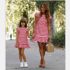 26ee342a25cd7 Matching Mother and Daughter Dresses Arcidosso in 2019 | Twist maxi ...