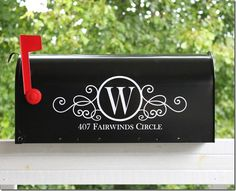 I just refinished my mailbox and was looking for a monogram for it. this is absolutely beautiful!