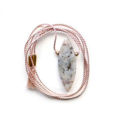 Silk Opal Necklace, $30, now featured on Fab.