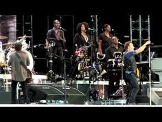 """Bruce Springsteen 2012-07-31 Detroit Medley (dubbed audio) Helsinki, Finland    This is the first time that Detroit Medley was performed on the Wrecking Ball tour. Great rocker medley that should be performed much more often. :)  """"Detroit Medley is a medley of various songs – inc. """"Devil With The Blue Dress"""", """"Good Golly Miss Molly"""", """"C.C. Rider"""", """"Jenny Jenny"""""""" – Brucebase.  Bruce Springsteen first time performed """"Detroit Medley"""" the during Born To Run tour."""