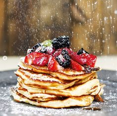 There is nothing better than a fresh, seasonal breakfast on these summer mornings. Kick start your morning with any of our delicious breakfast dishes! Gourmet Breakfast, Breakfast Dishes, Breakfast Time, Fresh Fruit, Granola, Dublin, Mornings, Gourmet Recipes, Pancakes