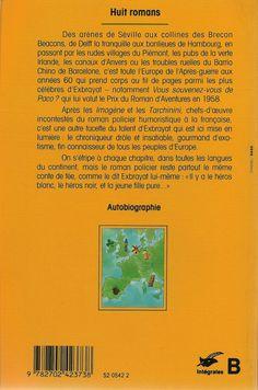 Les Intégrales du Masque - Charles Exbrayat - Volume 3 - Verso - Septembre 1993
