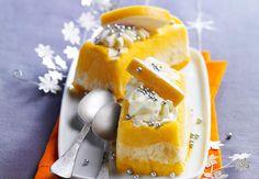 Vacherins glacés calisson-melonVoir la recette des vacherins glacés calisson-melon