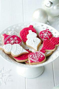 biscuits décorés décorations de noël