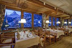 Dining Room  Chalet Hotel Schoenegg photo by the hotel Zermatt