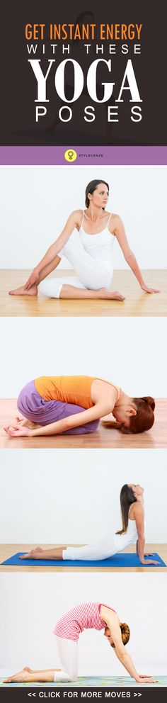 Read this post and find out the ten best asanas that provide you with instant energy!
