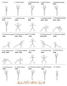 Yoga para principiantes Posturas de Yoga » 2/4 » Yoga para principiantes