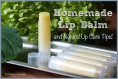 This homemade lip balm is a tried and true, all-natural recipe that leaves lips healthy, soft, and kissable. Customize it to create balms for many other uses.