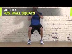 The Program Hockey Training: Goalie Agility Drills - YouTube