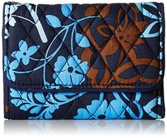 Vera Bradley Riley Compact Wallet Java Floral One Size * Check out this great product.