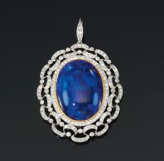 Opal and diamond brooch/pendant, early 20th century, | lot | Sotheby's