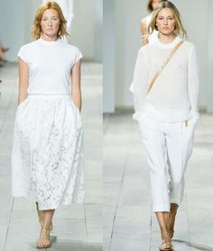 2015 Spring trend: The all white outfit - by Style Advisor