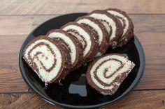 Cake Roll Recipes, Dessert Recipes, Hungarian Desserts, Sleepover Food, Waffle Cake, Easy Sweets, Kolaci I Torte, Czech Recipes, Sweet Cakes