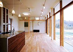 高倉設計事務所 の モダンな キッチン House in Mure