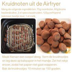 Kruidnoten uit de Airfryer. 150 graden, 10 minuten . AK