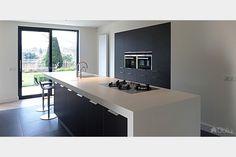Updated Kitchen, Kitchen Updates, Open Plan Kitchen Living Room, Kitchens, Kitchen Designs, Interior, Table, House, Furniture
