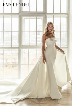 Classy Wedding Dress, Fit And Flare Wedding Dress, Minimalist Wedding Dresses, Dream Wedding Dresses, Bridal Dresses, Wedding Gowns, Wedding Day, Wedding Jumpsuit, Event Dresses